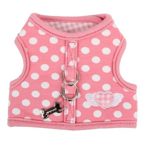 Pinkaholic New York Florence Pinka Harness, Medium, Pink, My Pet Supplies