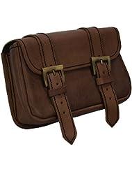 Epic Armoury Warrior Belt Bag, Leather, Large, LARP