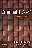 Criminal Law 4e, Tony Storey and Alan Lidbury, 1843923599