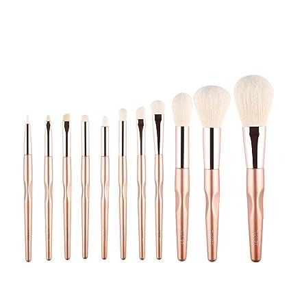 Set de pinceles de maquillaje 11 palos polvo suelto pincel ...