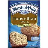 Martha White Muffin Mix Honey Bran 7.4 oz. (Pack of 6)