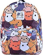Tauras Anime Neko Atsume Cosplay Backpack Student Daypack-8