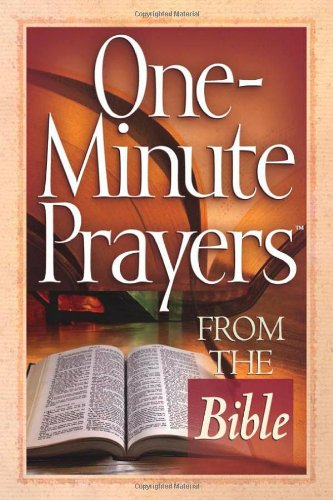 One-Minute Prayers™ from the Bible pdf epub