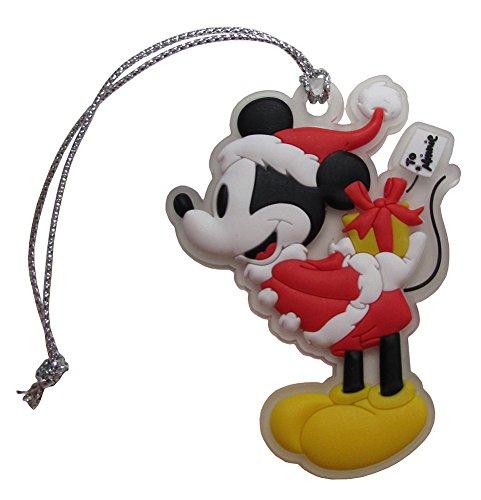 Disney Retro Mickey Mouse Santa Clause Hanging Christmas Tree Ornament