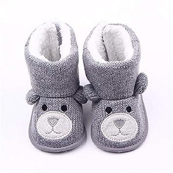 Warm Snowfield Booties Boot (Gray
