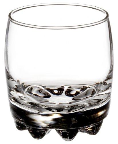 Bormioli Rocco Galassia Tumbler Rocks Glasses, Set of 6, Gift Boxed