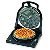 Chef's Choice 840 WafflePro Express Waffle Maker, Traditional Five of Hearts by Chef's Choice Kitchen Electrics