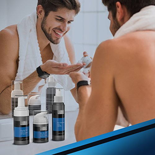 Anjou Men Care Kit for Father's Day, 1 x Face Cleansing Foam, 1 x After Shave Gel and 1 x Cologne Body Spray for Men… 7