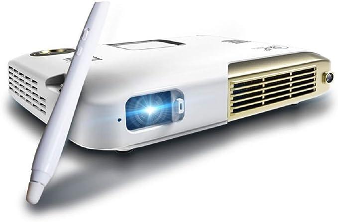 microproyector Proyector portátil HD 1080P Pantalla táctil ...
