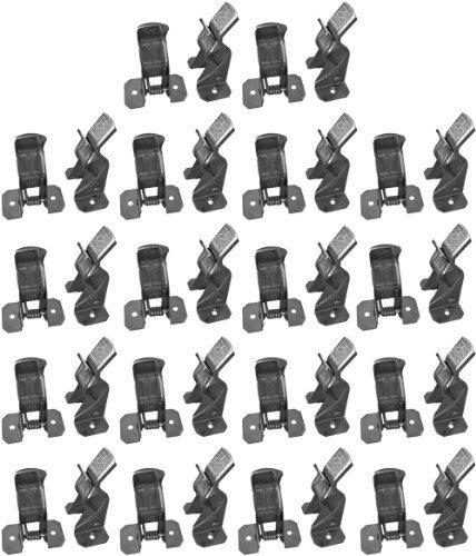 Bulldog (36 Pieces) Spring Grip Organizer for Brooms, Mops, Rakes Etc # PO-25