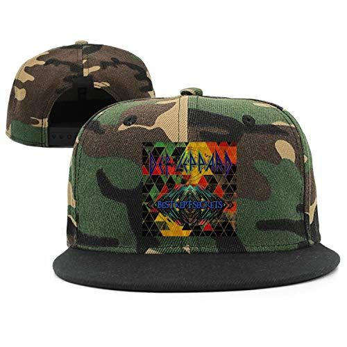 Unisex Coolest Printed hat Casual Snapback Cotton Flat Cap