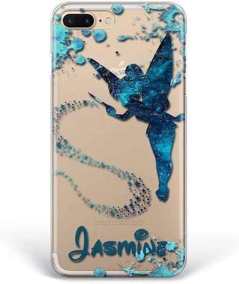 Kaidan iPhone Xs Max Case X XR 5 6 6s SE Tinker Bell Custom Name 7 8 Plus 11 Pro Samsung Galaxy A70 A50 S10 S8 S9 + Note 10 Lite Peter Pan Note 9 8 Magic Fairy Google Pixel 3A 4 XL LG G8s G7 G6 apP34