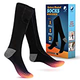Coolekom Heated Socks - 9hrs Heat, Best Heated Socks Women, Heated Socks for Men