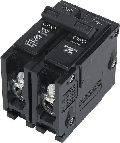 Connecticut Electric UBITB220C UL Classified Circuit Breaker, 2-Pole 20-Amp