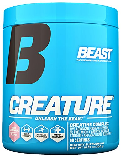 Beast Sports Nutrition, Creature Creatine Complex, Pink Lemonade,11.64 Ounce