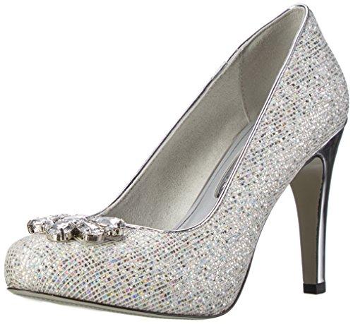 Zapatos plateado Tamaris para mujer l0uPhDM