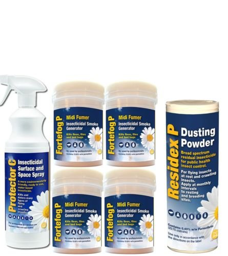 BED BUG KILLER AND TREATMENT KIT WITH FUMERS AND BED BUG SPRAY Sales Direct
