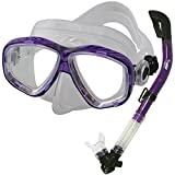 Promate Snorkeling Scuba Dive Dry Snorkel Mask Gear