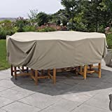 Weather Wrap Rectangular Table & Chairs Cover For Sale