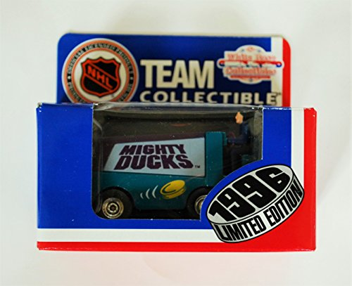 1996 NHL Team Collectible 1:50 Scale Diecast Collectors Zamboni - MIGHTY DUCKS of ANAHEIM (Nhl Diecast Collectibles)