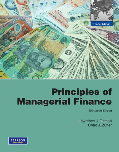 Cover for Principles of Managerial Finance