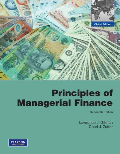 principles of managerial finance global edition lawrence j gitman