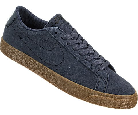 Nike Men's Sb Zoom Blazer Low Thunder Blue/Ankle-High Suede Skateboarding Shoe - 10M by Nike (Image #4)