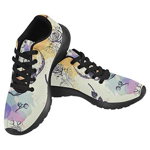 Womens Sports 17 Go Running Multi Jogging Comfort InterestPrint Easy Running Walking Sneaker Lightweight Shoes dzXOw4