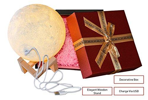 Cheap  3D Moon Lamp By VUUR: LED Light Home Decoration, Unique Design For..