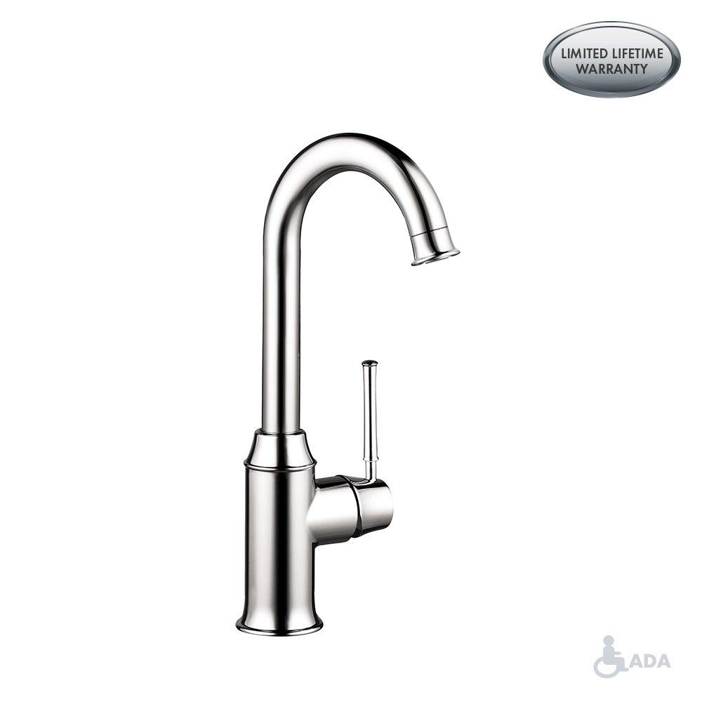 Hansgrohe 04217800 Talis C Bar Faucet Steel Optik