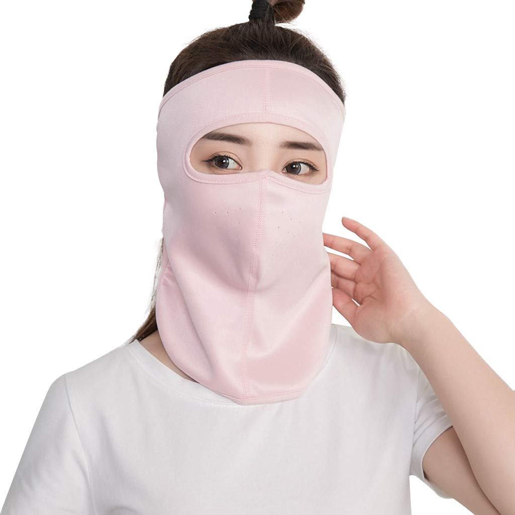 for Running Cycling Skiing Outdoor Sport Kecar Sun Sunscreen Dust Mask UV Protection for Women Men Sunshade Masks Dustproof Neck Cotton Face Mouth Cover