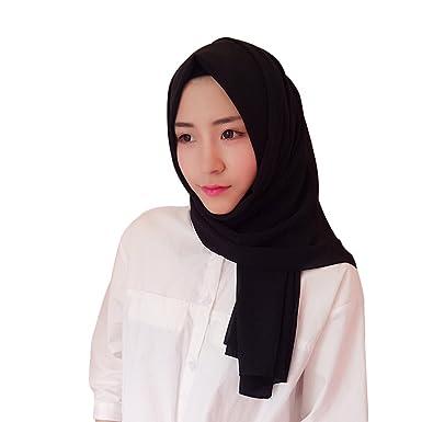 esthétique de luxe les clients d'abord style populaire Hougood Hijab Femme Musulmane Dubai Hijabs Ladies Wrap Hijab ...