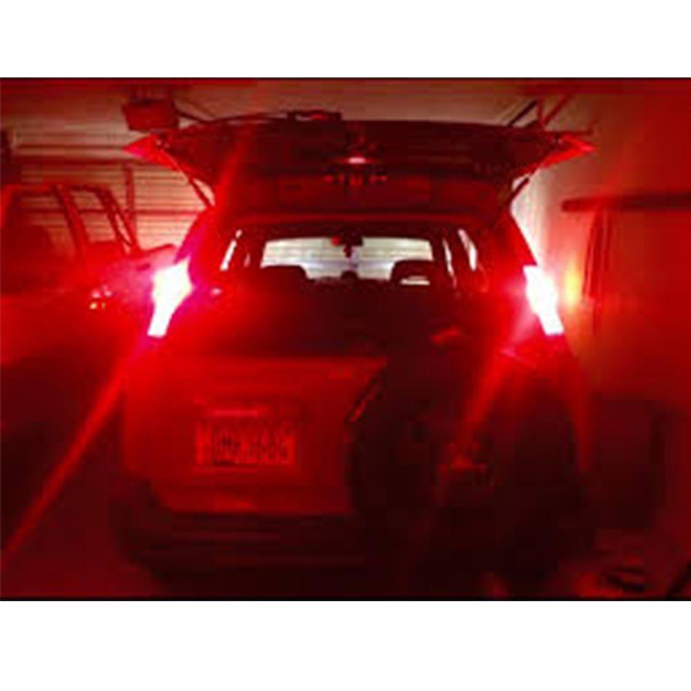 AMAZENAR Paquete de 2 1157 BAY15D 1016 1034 7528 2057 2357 LED de Luz /ámbar//Amarillo 12V-DC AK-3014 39 Bombillas de Repuesto SMD para Luces de Giro de La Cola de Repuesto