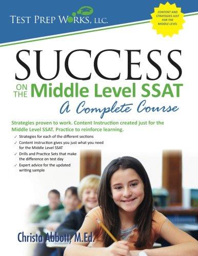 Ssat middle level essay help