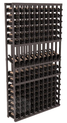 Wine Racks America Ponderosa Pine 10 Column Display Row Cellar Kit. 13 Stains to Choose From! For Sale