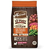 Cheap Merrick Lil Plates Grain Free Beef+Sweet Potato Recipe With Raw Bites Dry Dog Food, 4 Lb