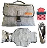 Washable Diaper Changing Pad Clutch