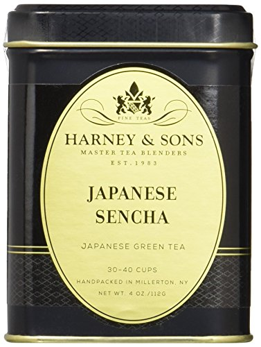 Harney & Sons Loose Leaf Green Tea, Japanese Sencha, 4 Ounce