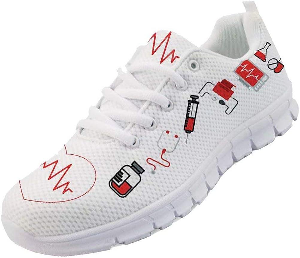 chaqlin - Lindas zapatillas deportivas para mujer con diseño de dibujos animados, zapatillas de correr transpirables para chica y mujer, zapatillas de andar, color, talla 46 EU: Amazon.es: Zapatos y complementos