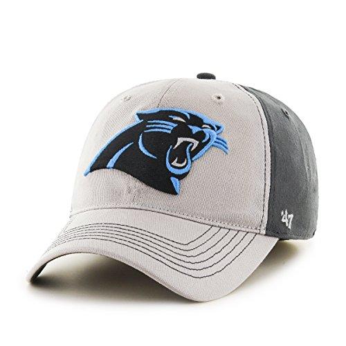 NFL Carolina Panthers Umbra Closer Stretch Fit Hat, One Size Stretch, Dark Charcoal