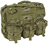 Code Alpha Computer Messenger Bag with Molle Pouches, Multicam