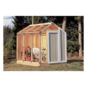Share Facebook Twitter Pinterest  sc 1 st  Amazon.com & Amazon.com : Fast Framer Universal Storage Shed Framing Kit : Garden ...