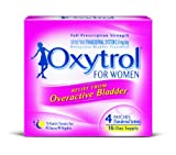 Oxytrol for Women Overactive Bladder Transdermal Patch, 4 Count