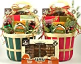 Holiday Snack Attack | Christmas Gift Basket of Gourmet Meats and Cheeses