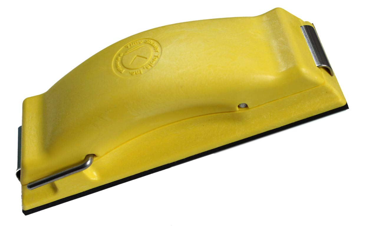 Time Shaver Tools Yellow Preppin' Weapon Hand Sanding Block by Time Shaver Tools, Inc.