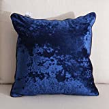 TIANTA-Cushion 45 45cm fabric sofa bay window pillow bedside back cushion European snow pattern wild ( Color : D , Edition : No core )