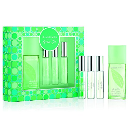 Green Tea By Elizabeth Arden - Elizabeth Arden Green Tea 4 Piece Holiday Coffret, 1.7 oz.