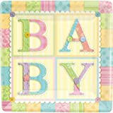 Cute As A Button Lunch Plates, 8ct