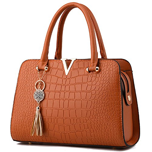 Spalla Colgante De Ajlbt Coreana Hombro Ajlbt Bolso Messenger La Sacchetto Yellowishbrown Pendente Retro Retrò Del Manera Coreano Sra Bag Moda Mrs Iwwqv16