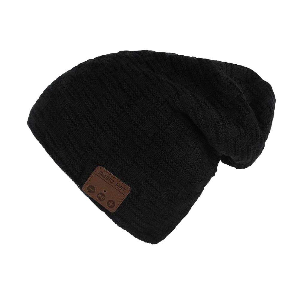 Cappello cuffia Bluetooth Hat senza fili con cuffia microfono Cappelli  invernali lavabili in maglia regalo 7dd90c54e356